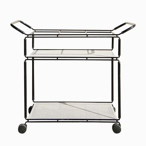 Serving Bar Trolley by Tjerk Reijenga for Pilastro, 1980s