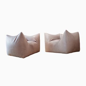Le Bambole Armchairs by Mario Bellini for B&B Collection, 1979, Set of 2