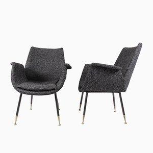 Kleine Sessel von Gastone Rinaldi für RIMA, 1956, 2er Set