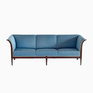 Canapé en Acajou de Frits Henningsen, 1940s