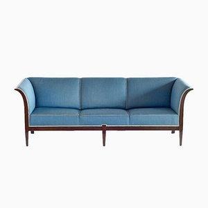 Mahogany Sofa from Frits Henningsen, 1940s