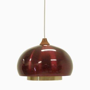 Lámpara colgante noruega de T. Røste & Co, años 70