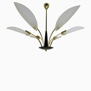 Italian Ceiling Light, 1950s
