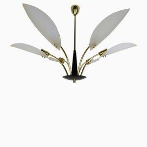 Lámpara de techo italiana, años 50
