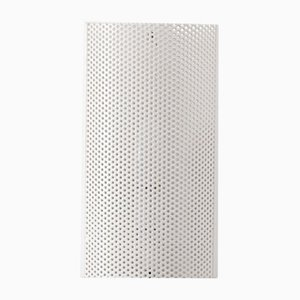 Dutch Perforated Wall Lamp by Willem Hagoort, 1950s