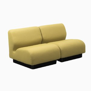 Yellow British Modular Sofa by Don Chadwick for Herman Miller, 1970s