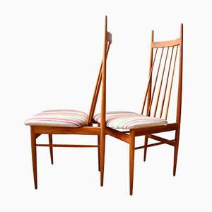 Teak Chairs by Ernst Martin Dettinger for Lucas Schnaidt, 1962, Set of 2