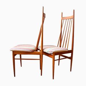 Teak Stühle von Ernst Martin Dettinger für Lucas Schnaidt, 1962, 2er Set