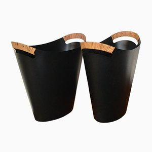 Trash Baskets by Grete Kornerup-Bang & Finn Juhl for Torben Ørskov, 1950s, Set of 2