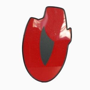 Lettre Lumineuse O Rouge et Noire