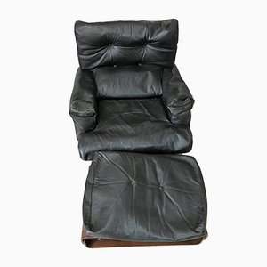 Armchair & Footstool by M.Taro for Cinova, 1964