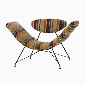 Mid-Century Brazilian Poltrona Reversível Chair by Martin Eisler for Forma, 1955