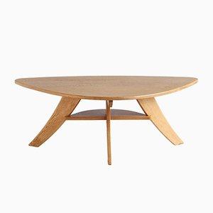 Table Basse en Chêne par Jan Den Drijver pour Wooninrichting De Stijl, 1948