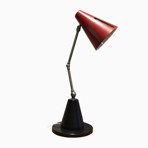 Dutch Sun Series Desk Lamp by H. Th. J. A. Busquet for Hala, 1955