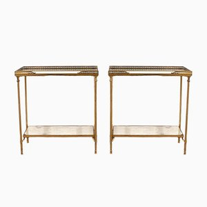 Side Tables by Maison Jansen, 1950s, Set of 2