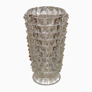 Rostrato Murano Glas Vase von Ercole Barovier, 1930er