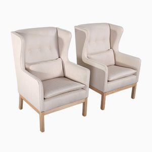 EJ25 Armchairs by Erik Jorgensen for Erik Jorgensen Mobelfabrik, Set of 2