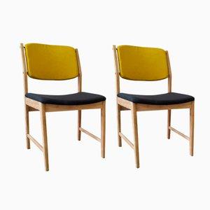 Vintage Esszimmerstühle, 1960er, 2er Set