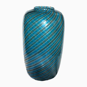 Striped Glass Vase from Venini