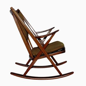 Danish Rocking Chair by Frank Reenshang for Bramin, 1960s