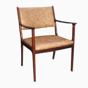 PJ412 Armlehnstuhl von Ole Wanscher für P. Jeppesens Møbelfabrik, 1960er