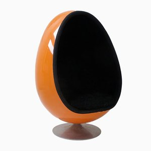 Egg Chair Ovalia par Thor Larsen pour Torlan Staffanstorp, 1968