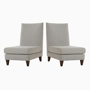 Brazilian Lounge Chairs from Joaquim Tenreiro, 1958, Set of 2