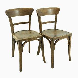 Vintage Esszimmerstühle, 1930er, 2er Set