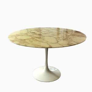Vintage Marble Tulip Dining Table by Eero Saarinen for Knoll