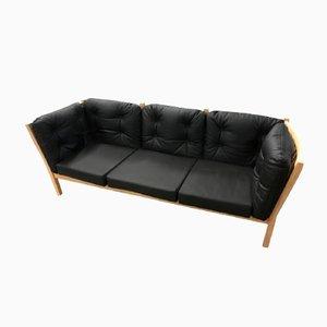 Sofá de tres plazas modelo 303 vintage de Andreas Hansen para Brodere Andersen