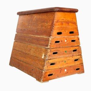 Vintage Turngerät aus Holz