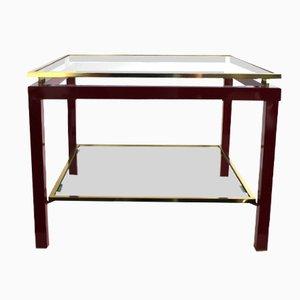 Vintage Brass Side Table by Guy Lefevre for Maison Jansen, 1970s