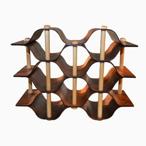 Wine Rack by Torsten Johansson for Formträ AB, 1960s