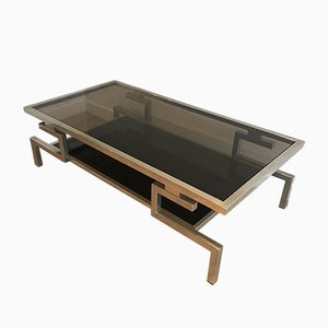 Modernist Chromed Coffee Table, 1970s