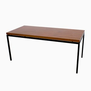 Table Basse Mid-Century en Placage de Teck, 1960s