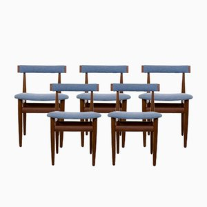 Vintage Danish Teak Chairs by Hans Olsen for Frem Røjle, Set of 5