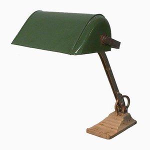 Lámpara de banco austriaca, años 30