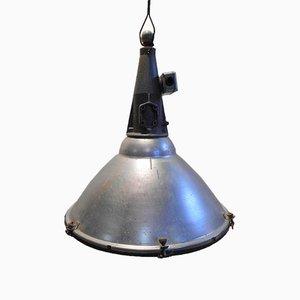 Lámpara colgante de aluminio vintage