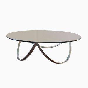 Steel & Glass Coffee Table, 1960s