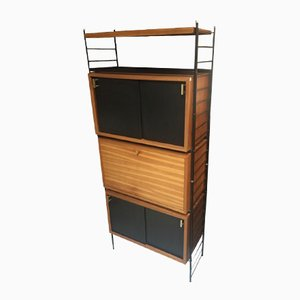Vintage Wooden Shelving Unit