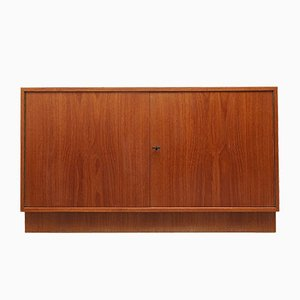 Niedriges Teak & Resopal Sideboard, 1960er