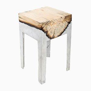 Mesa baja Wood Casting™de Hilla Shamia