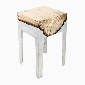 Wood Casting™ End Table by Hilla Shamia