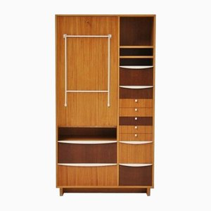 Dutch Modernist Cupboard with Desk, 1950s