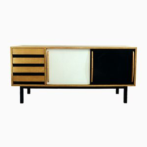 Mid-Century Cité Cansado Sideboard by Charlotte Perriand
