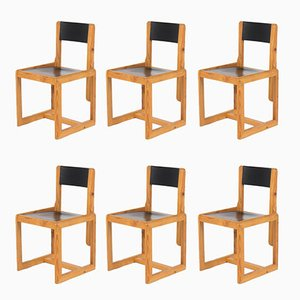 Dining Chairs by André Sornay, 1960s, Set of 6