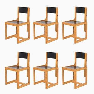 Esszimmerstühle von André Sornay, 1960er, 6er Set
