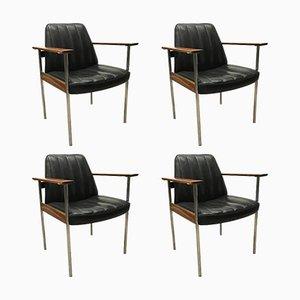 Mid-Century Armlehnstühle von Sven Ivar Dysthe für Dokka, 4er Set
