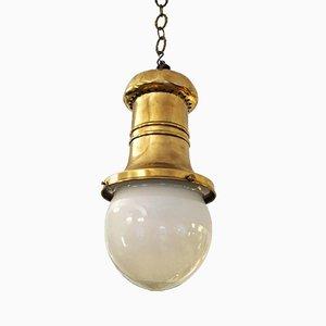 Lampada da grande magazzino antica Art Nouveau