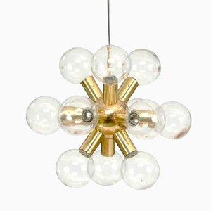 Sputnik Chandelier by J.T. Kalmar, 1970s